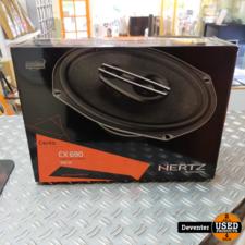 Hertz Cento CX690  Luidsprekerset 6 X 9 inch NIEUW in doos
