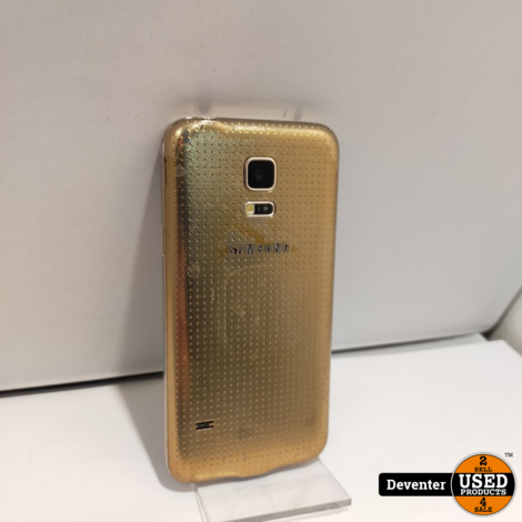 Samsung S5 Mini Gold 16GB Nette staat