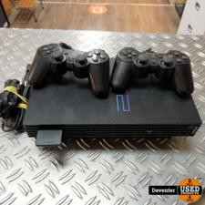 Playstation 2 Phat met 2 controllers en 8MB memorycard