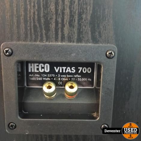 Heco Vitas 700 Zuilluidsprekers 160/260 watt Nette staat