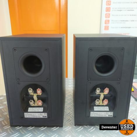 Elac CL 82 2-Weg speakers 80/120 w in nette staat