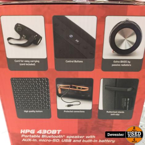 Caliber HPG430BT 90 watt nieuwstaat in doos