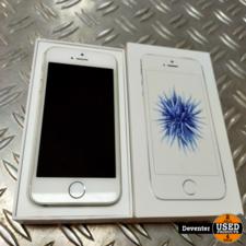 Apple iPhone SE 16GB Silver met doos / Accu 87%