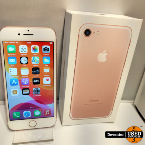 Apple iPhone 7 32GB Rose Gold Nette staat Accu 90%