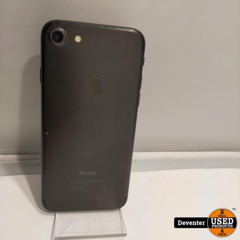 Apple iPhone 7 128GB Zwart met nieuwe accu