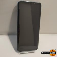 Samsung Galaxy S8 Plus Blauw 64GB met garantie