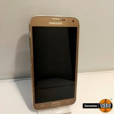 Samsung S5 Neo 16GB Gold met garantie