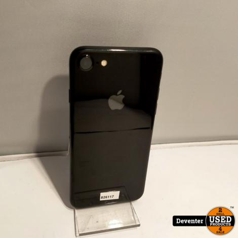 Apple iPhone 7 128GB Zwart accu 100% met garantie
