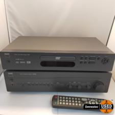 NAD C320BEE Stereo Amplifier en NAD T531 DVD speler