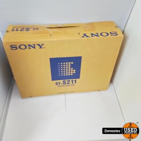 Sony ST-S211 Stereo FM AM Tuner NIEUW in doos