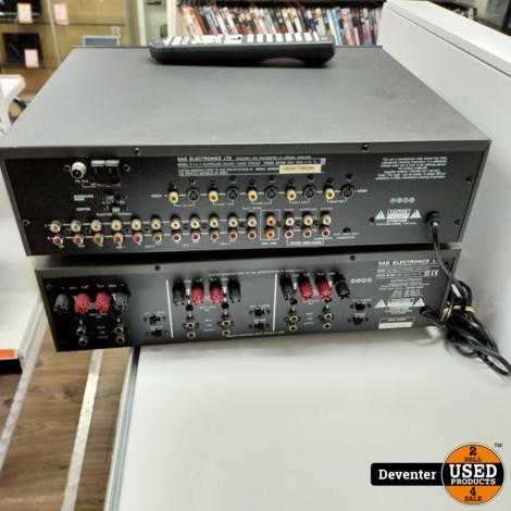 NAD 916 en NAD 917 Multi Channel en AV Surround Pre