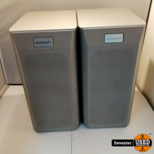 Quadral Ascent 250 speakers Zilver in nette staat