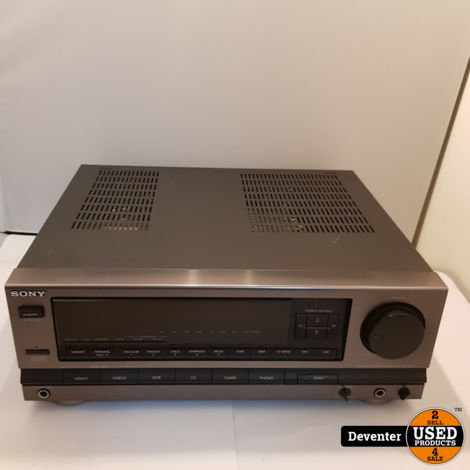 Sony TA-D505 stereo versterker met garantie!