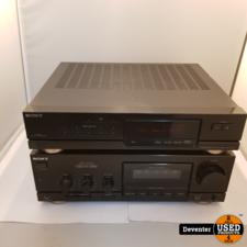 Sony TA-V701 stereo versterker met ST-V701L Tuner