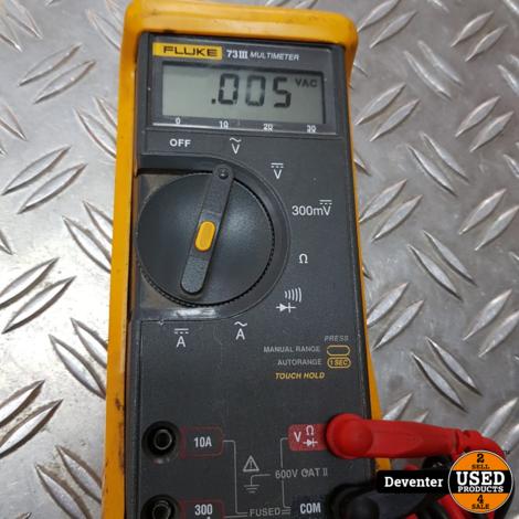 Fluke 73 III multimeter met garantie