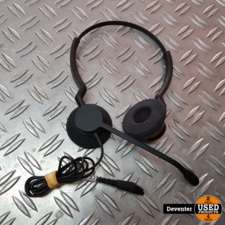 Jabra headset BIZ 2300 QD Duo (2309-820-104) exl USB adapter