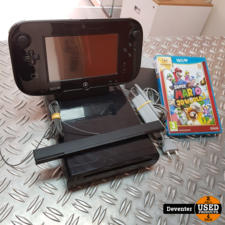 Nintendo Wii U zwart 32gb    Met Super Mario 3D World