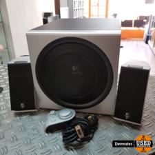 Logitech Z-2300 2.1 speakerset / 200 watt / diepe bass