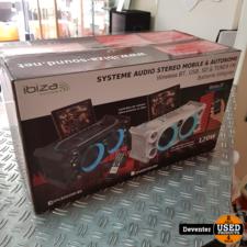 Ibiza Sound SPLBOX NIEUW / 120 watt / portable / BT/Accu