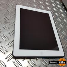 Apple iPad 4 16GB WiFi Wit met beschermhoes