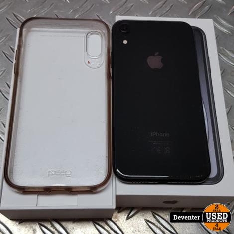 Apple iPhone Xr 64GB nette staat accu 89% met doos