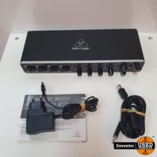 Behringer U-PHORIA UMC404HD audio-interface