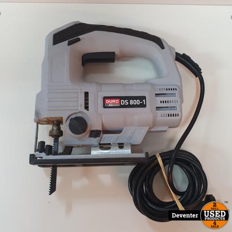 Duro DS 800-1 decoupeerzaag 800 watt/ 3 standen
