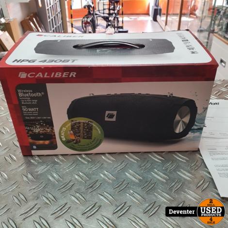 Caliber HPG430BT Bluetooth Speaker nieuw met bon 22-03