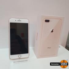 Apple iPhone 8 Plus 256GB Rose Gold Doos Nieuwe lader