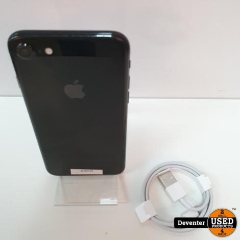 Apple iPhone 7 128GB Jet Black / 3 mnd garantie
