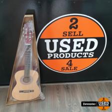 CLXmusic Caldez 43 Klassieke gitaar 3/4 Naturel I NIEUW
