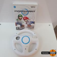 Wii Mario Kart Wii met stuurtje I Met garantie