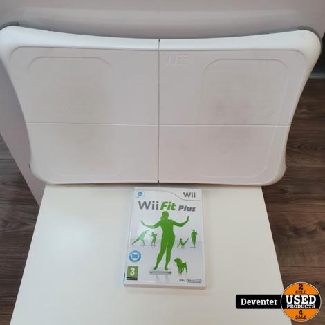 Nintendo Wii Balanceboard met de game Wii fit Plus