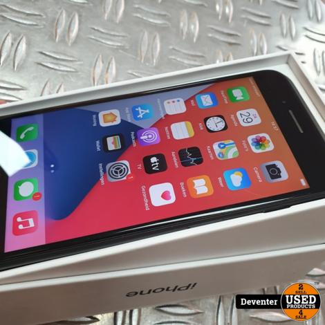 iPhone 7 Plus 128GB Zwart met doos en lader/ Accu 73%