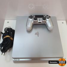 Playstation 4 Slim 500GB met 1 controller en garantie