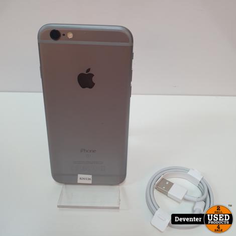 Apple iPhone 6S 32GB Gray met nieuwe USB kabel