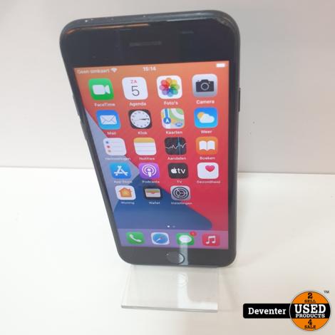 Apple iPhone 7 128GB Zwart met nieuwe USB kabel