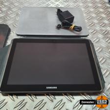 Samsung Galaxy Tab 2 10.1 WiFi 16GB Grey met hoes en lader