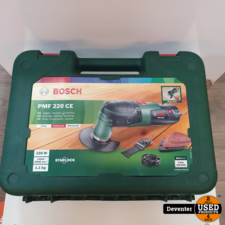 Bosch PMF220 CE Multitool in koffer / Met garantie
