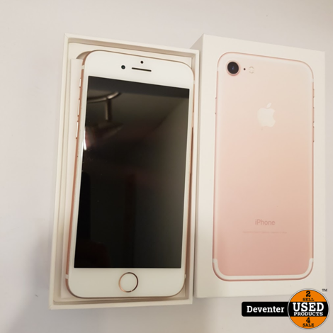 Apple iPhone 7 32GB Rose Gold met doosje, lader en oordopjes