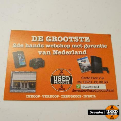 Sony Dualshock 4 controller Zwart II Net met garantie