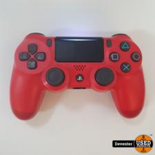 Sony Dualshock 4 V2 controller Rood II Met garantie