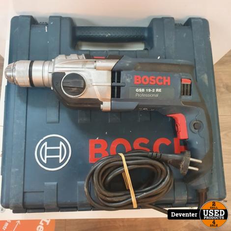 Bosch GSB 19-2 RE klopboormachine II Met garantie