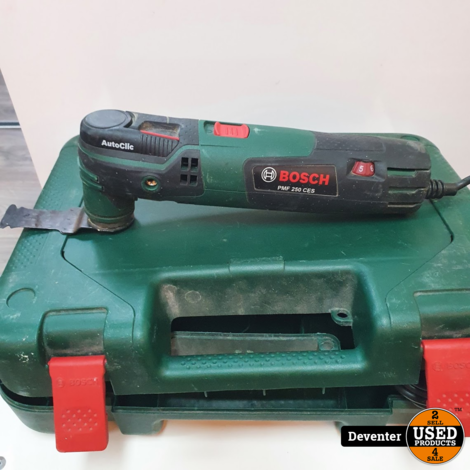 Bosch multitool PMF250CES II Koffer met garantie