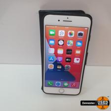 Apple iPhone 7 Plus 32GB Zilver Accu 87% Zeer net