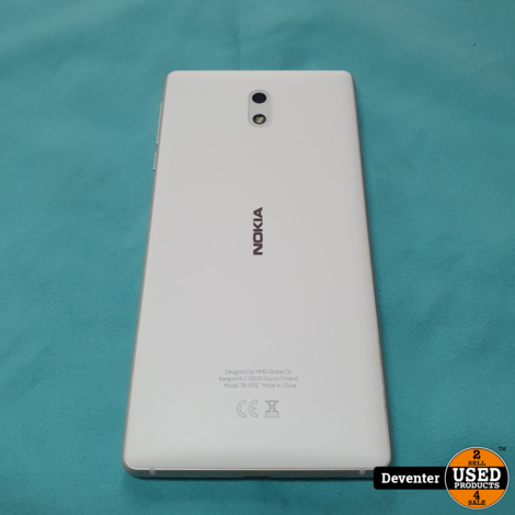 Nokia 3 II 16GB II Wit II Android 9 II Dual SIM