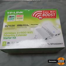 TP-Link TL-WPA4220 KIT - AV500 - Wifi Powerline - 2 Stuks