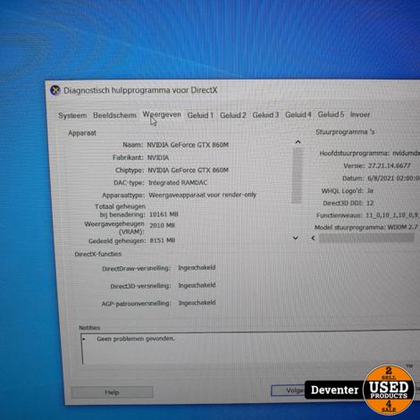 MSI GE60 2PE i7/16GB met originele bon twv € 1499.00