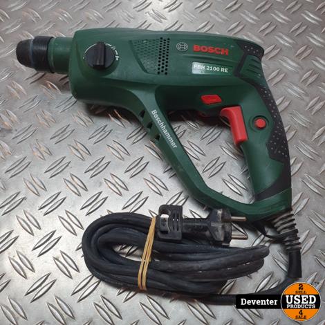 Boschhammer PBH2100 RE Combihammer Met garantie