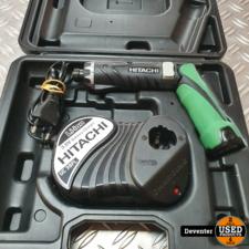 Hitachi DB 3DL2 knikschroevendraaier II 1 accu en lader